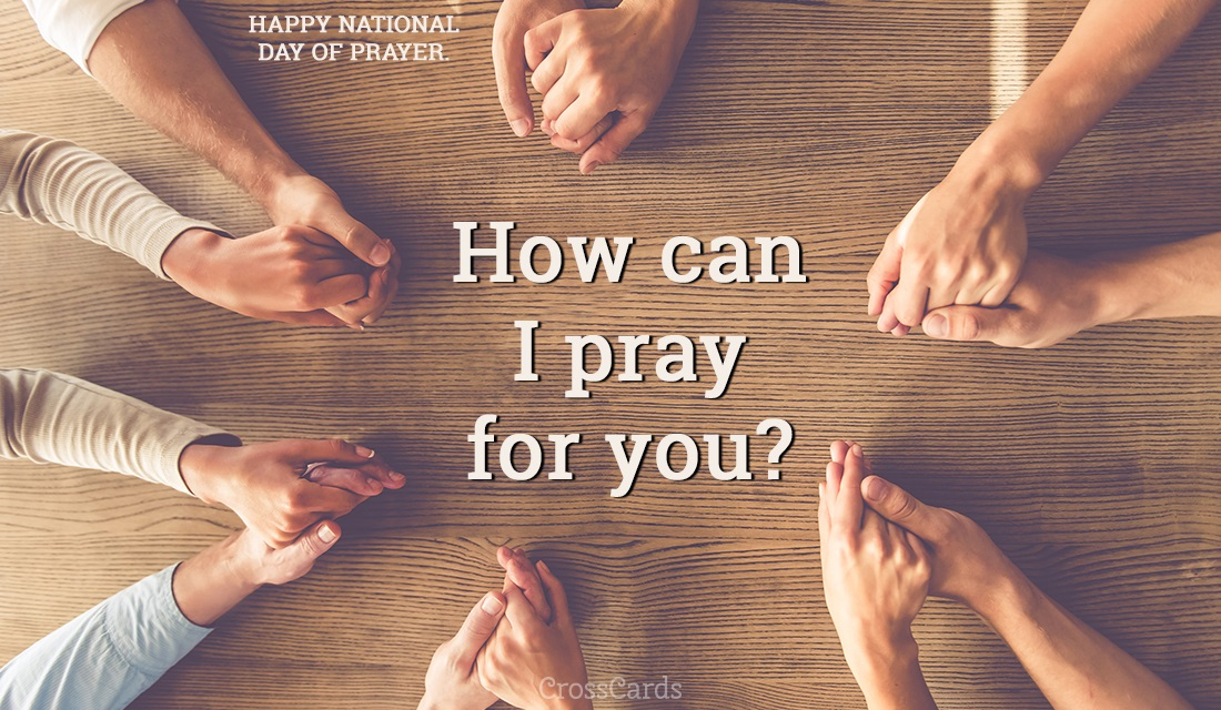 How Can I Pray for You? - National Day of Prayer ecard, online card
