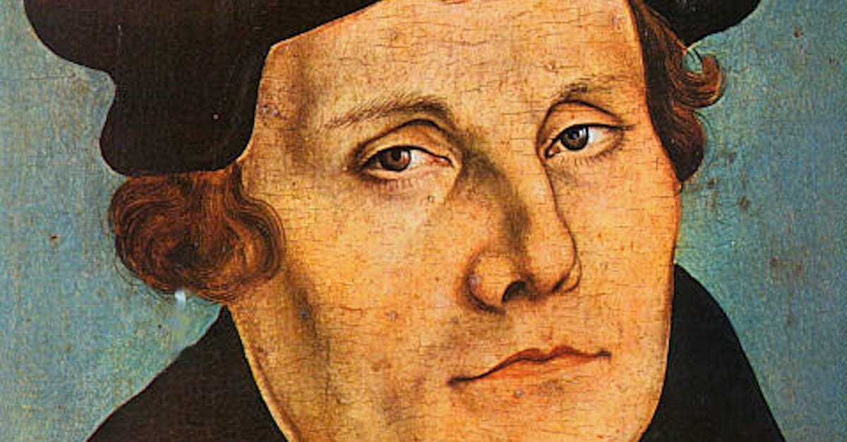 5 Myths about Martin Luther