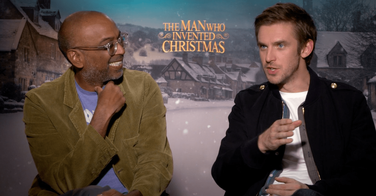 dan stevens bharat nalluri bring dickens to life in the man who invented christmas - When Was Christmas Invented