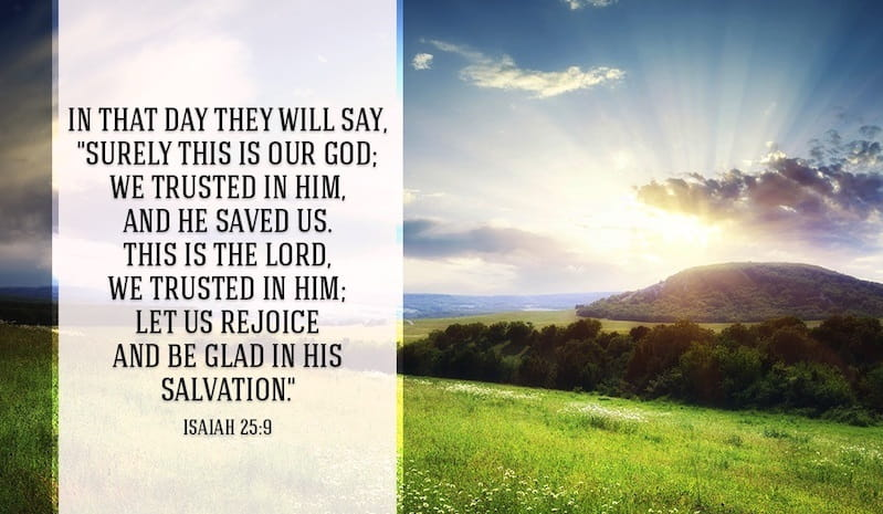 salvation is from the lord