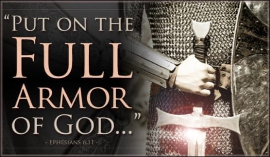 put on the full armor of god