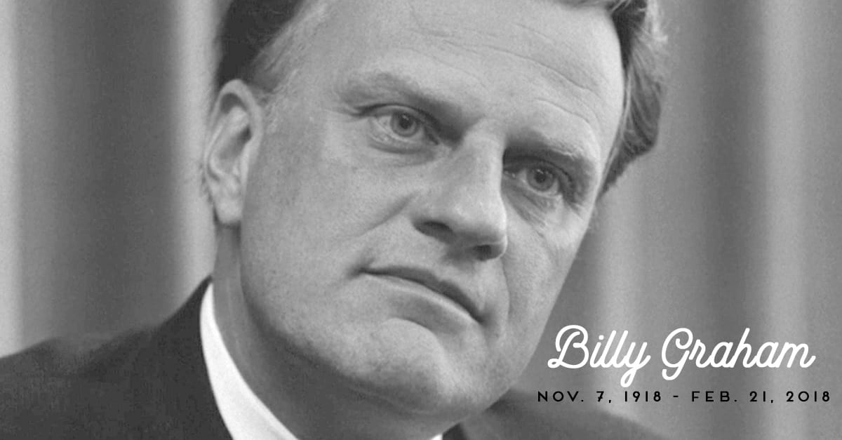 40 Courageous Quotes from Evangelist Billy Graham