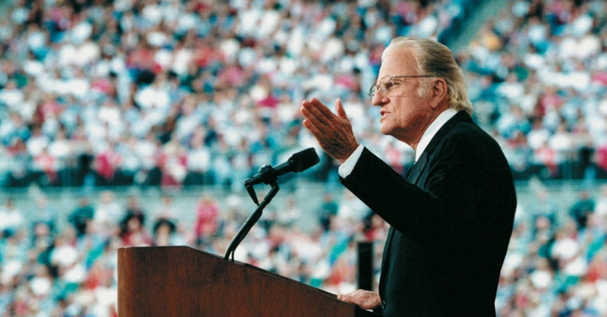 Billy Graham's Faith-vs-Tech TED Talk: Then and Now
