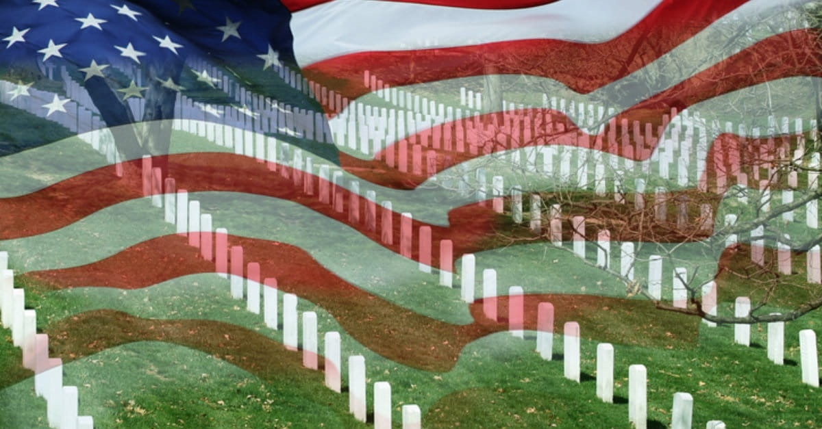 2. Visit a National Cemetery