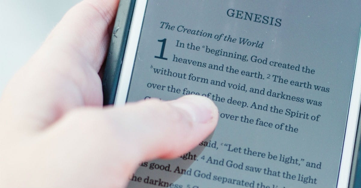 Where to Begin With the Book of Genesis