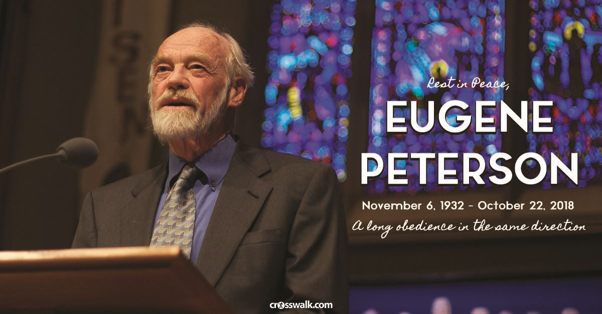 How Eugene Peterson Has Blessed Christianity (And 20 of His Most Powerful Quotes)