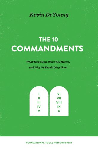 The 10 Commandments Book Cover