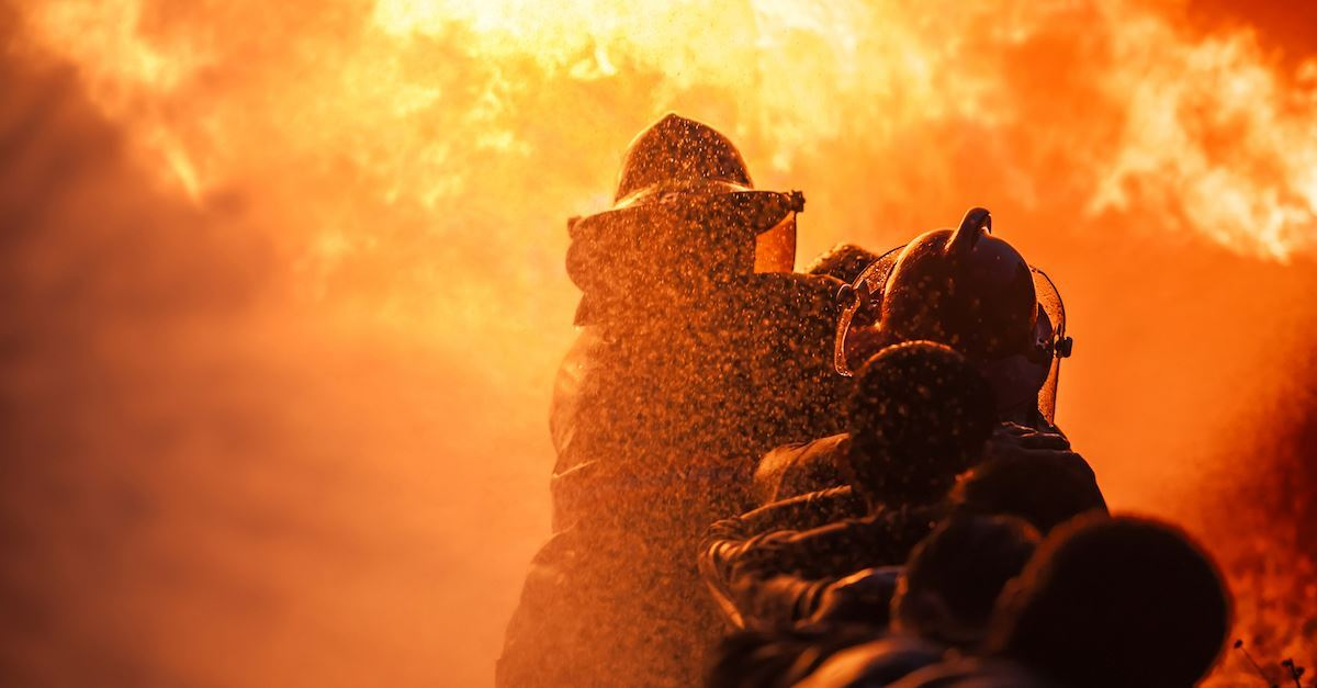 A Firefighter's Prayer- Hope-filled Words for Protection