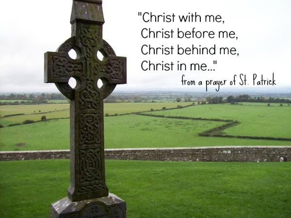 st. patrick prayer image, when is st. patricks day