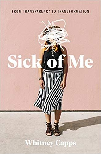 Sick of Me book cover by Whitney Capps