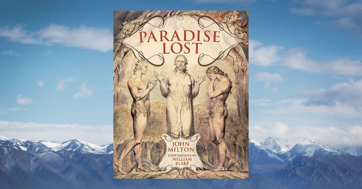 3. <em>Paradise Lost</em> by John Milton, 1667