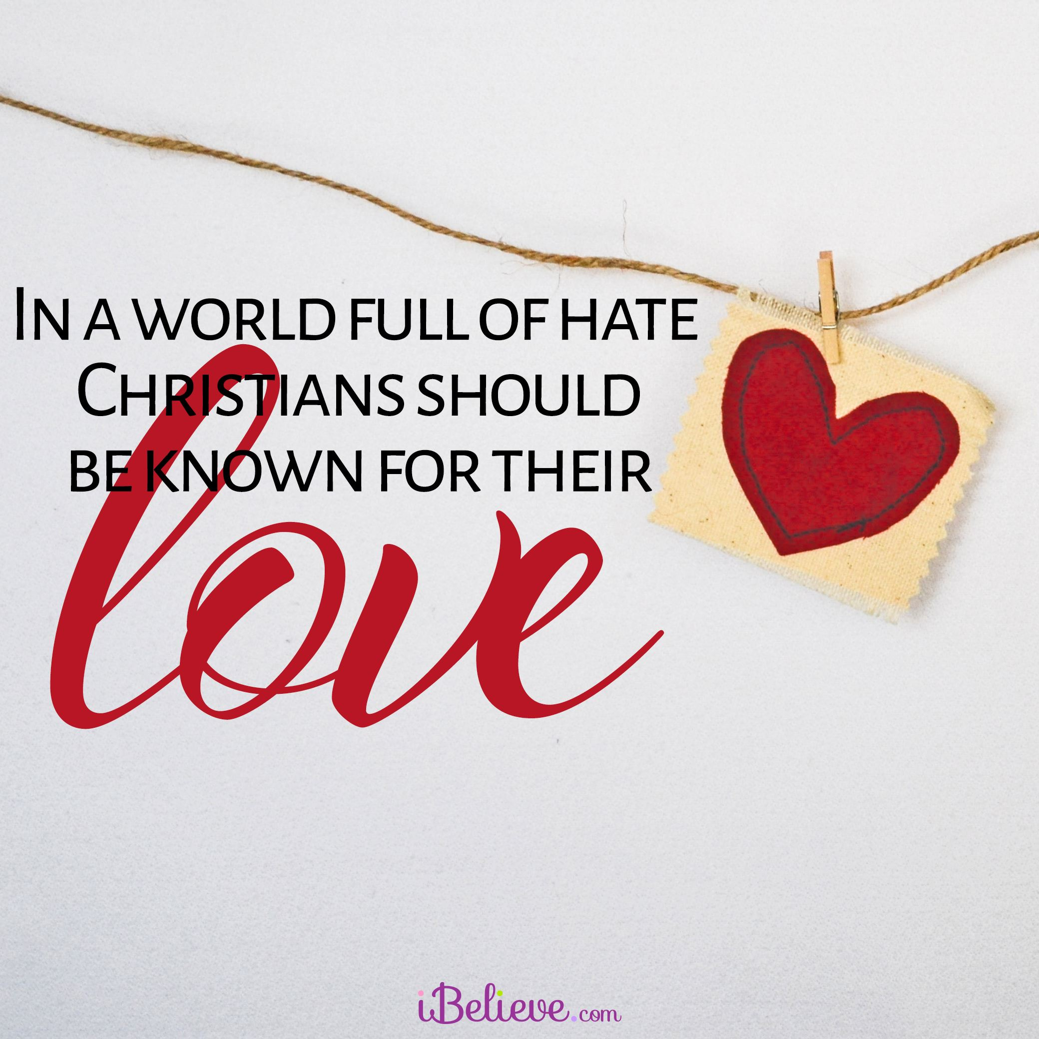 A Prayer to Love When The World Wants Us to Hate - Your