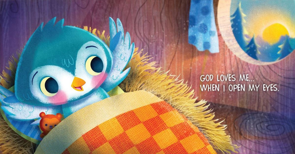 All Day Long, God Loves Me by Mikal Keefer