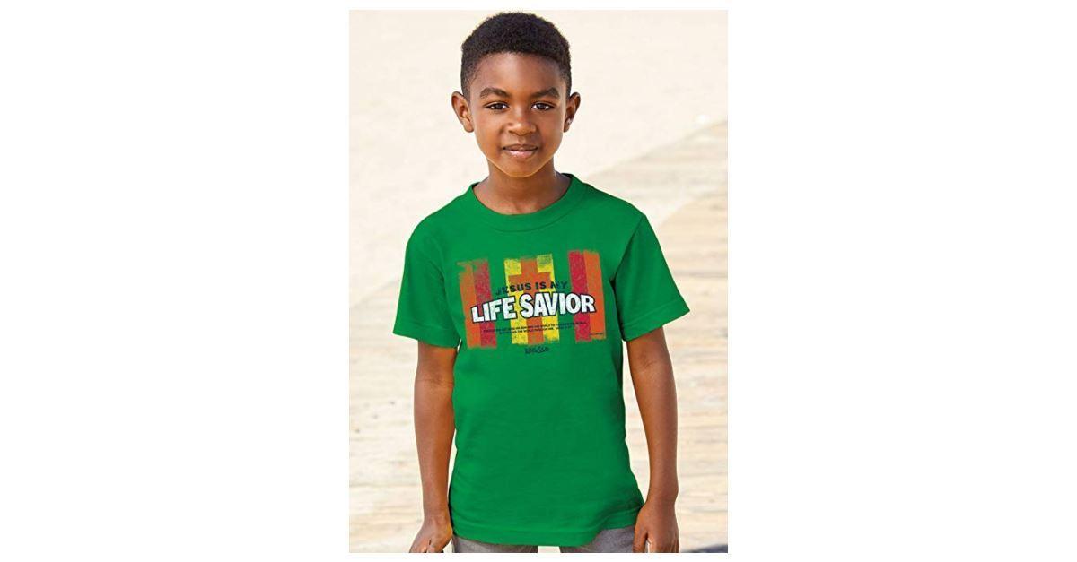 Jesus Is My Life Savior Kid's Shirt