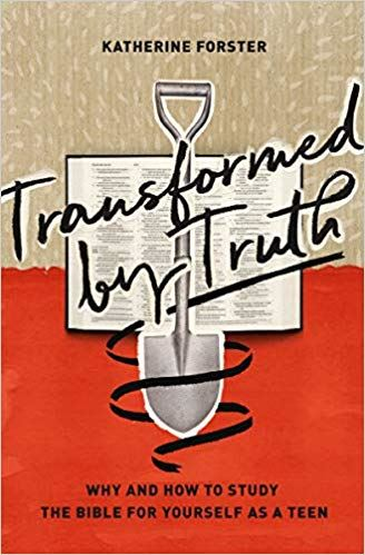 Transformed by Truth book cover by Katherine Forster