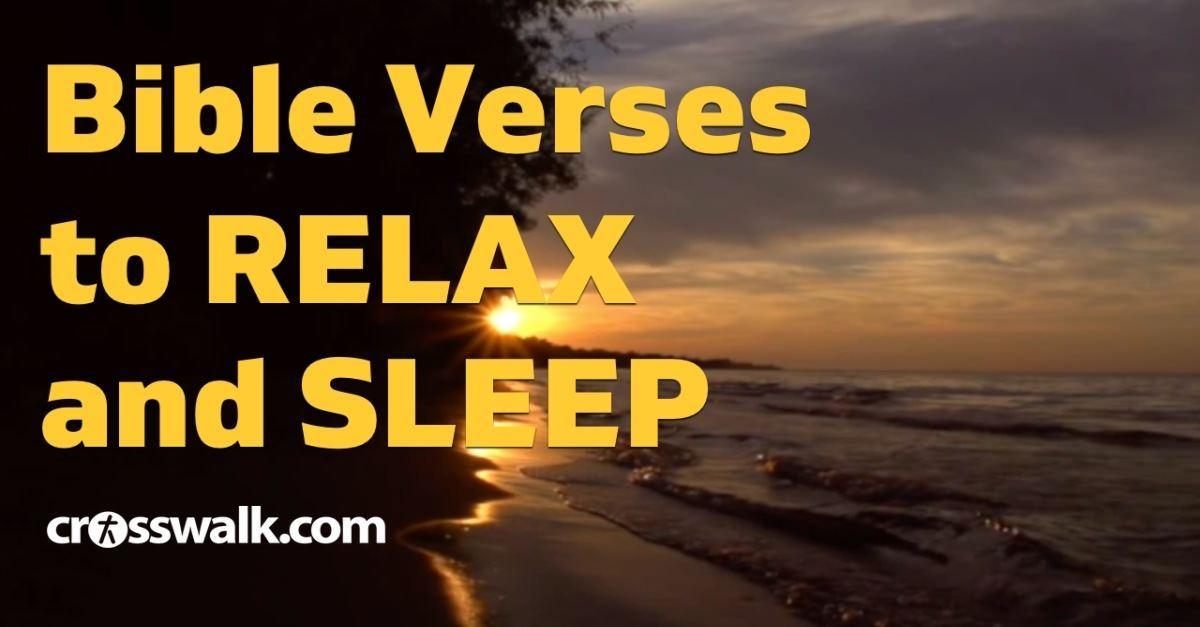 Bible Verses for Sleep - Relaxing Scriptures with Ocean Waves