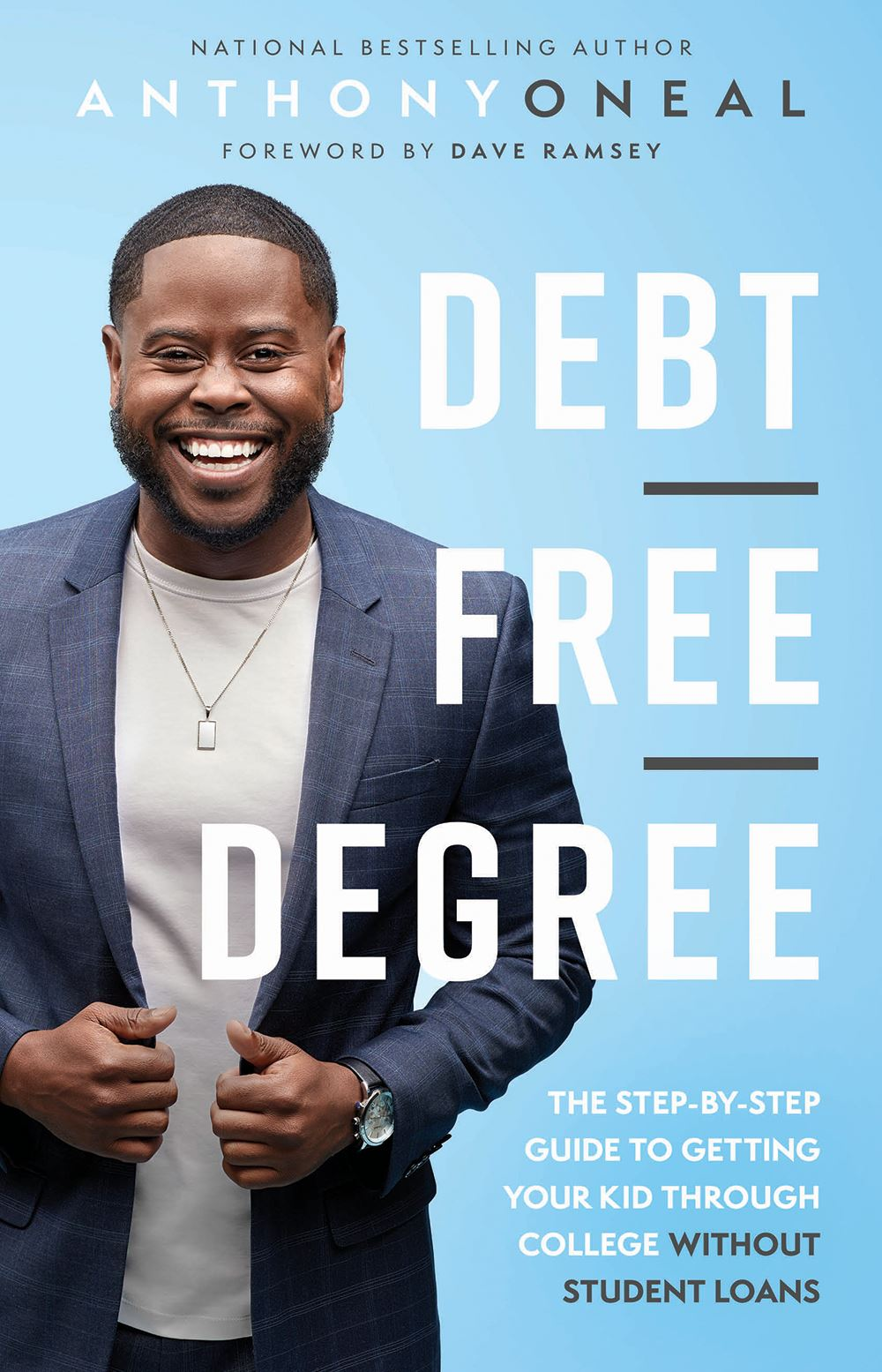 Debt Free Degree Book Cover by Anthony ONeal