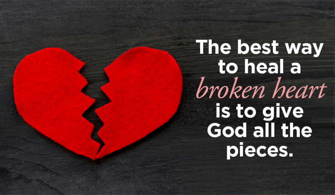 healing prayer for broken heart