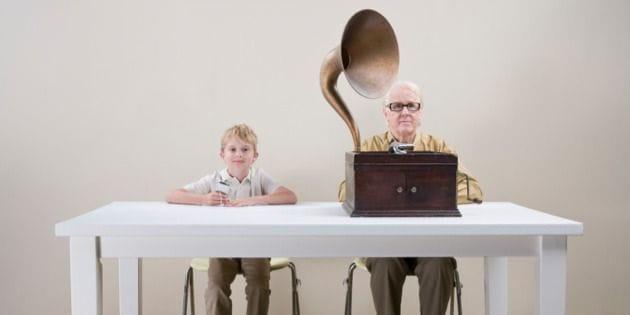 Grandson Grandpa Music