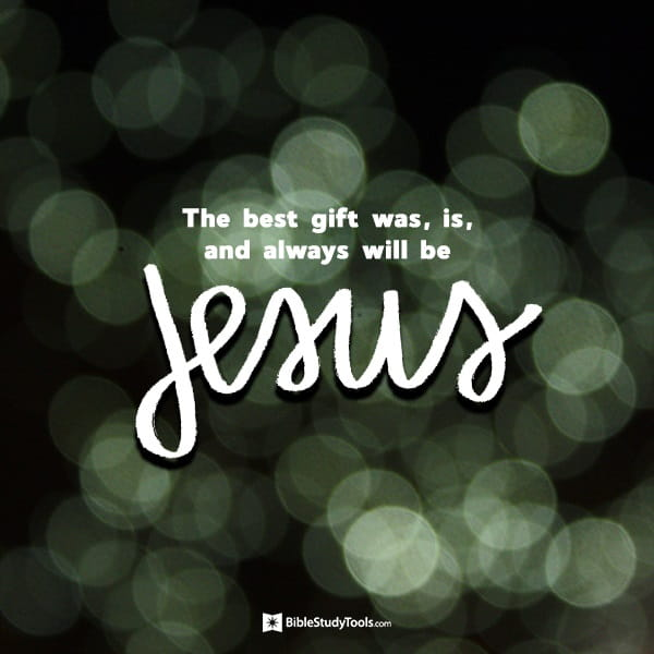 considering gods priceless present to the world the holiday season is an opportune time to share with family friends and those around us