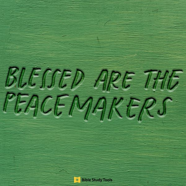 Blessed are the Peacemakers - Bible Study Minute - February