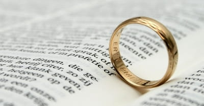 4. Marriage is a covenant, not a contract.