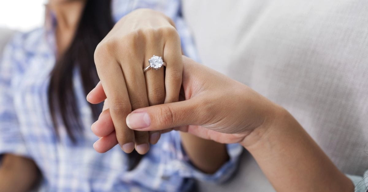 How long should you be together before getting engaged