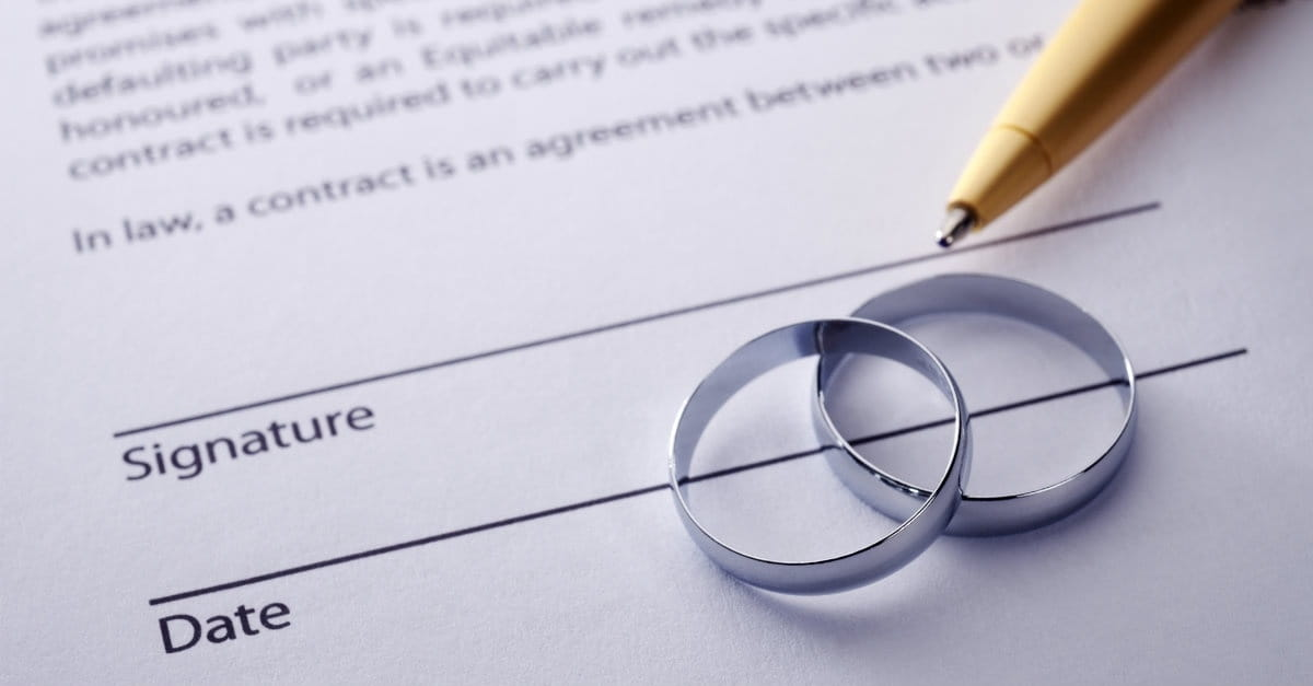 Is It Wrong To Ask For A Prenuptial Agreement Dr Roger Barrier
