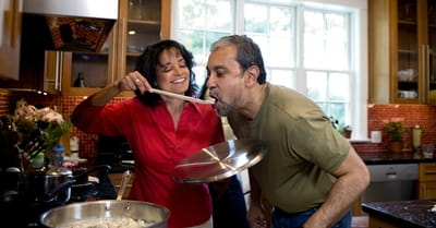 3. A Dinner Date That You Cook Together