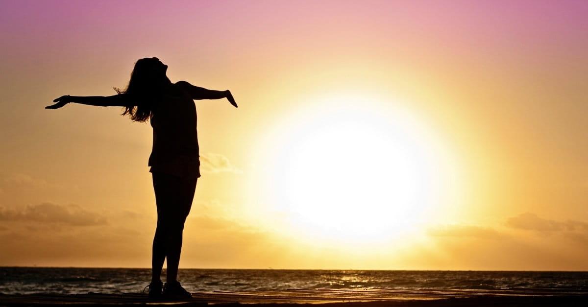 7. Prayer is thanking God.