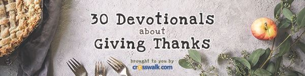 Thanksgiving Devotionals