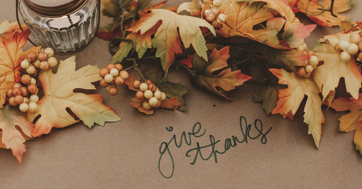 He Loves to Be with the Ones He Loves - Thanksgiving Devotional - Nov. 25