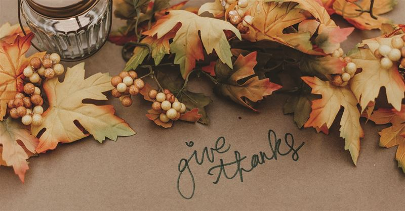 A Prayer for Thanksgiving Day - Thanksgiving Devotional - Nov. 26
