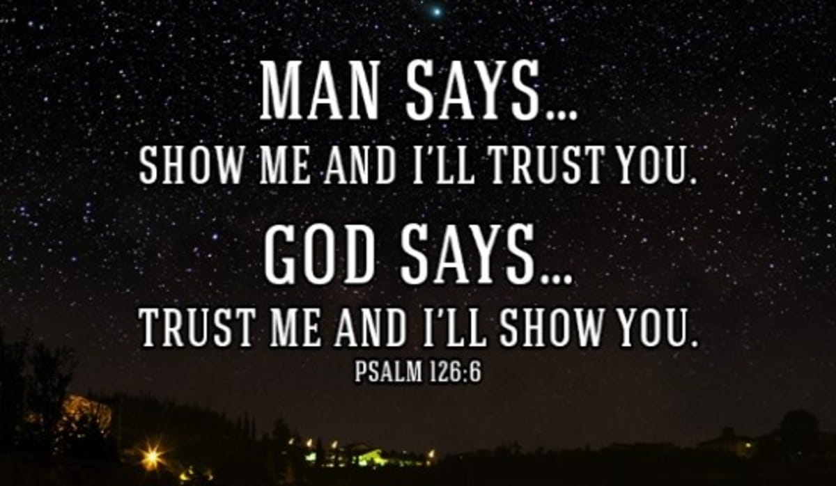 God Needs You to Trust Him