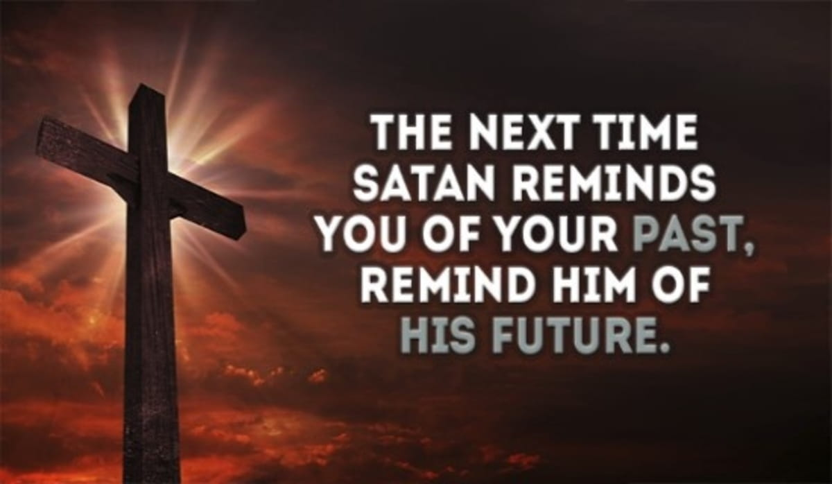 Don't Let Satan Discourage You