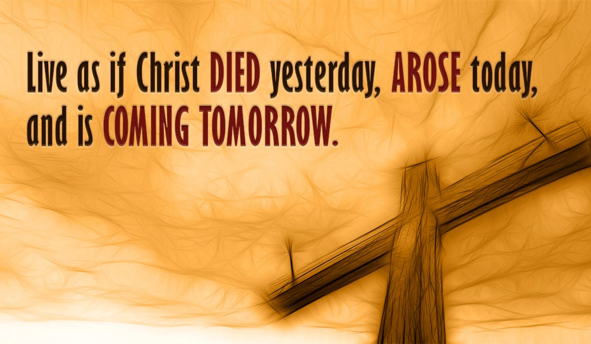 Christ is Coming Back