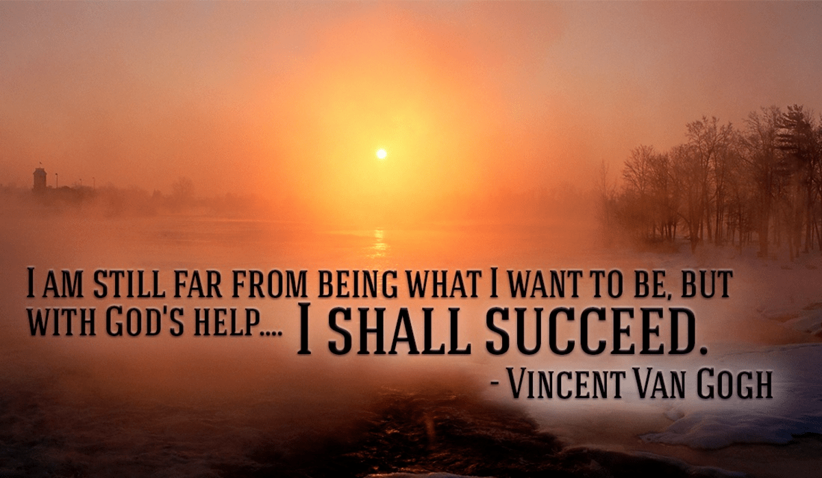 I Will Succeed with God's Help