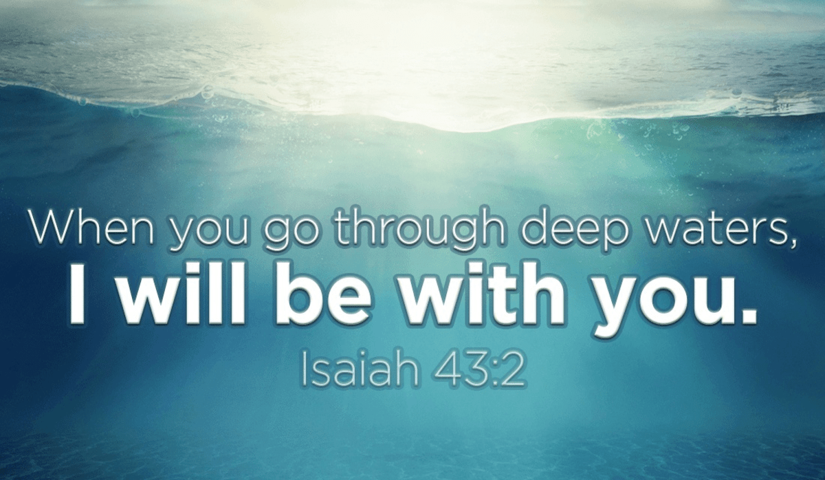 You Will Not Drown Because God is with You!