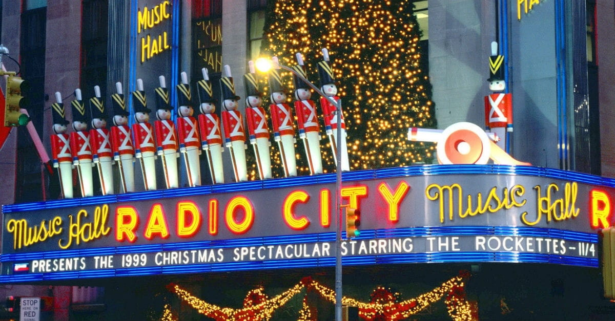 8. Radio City Christmas Spectacular Starring the Rockettes