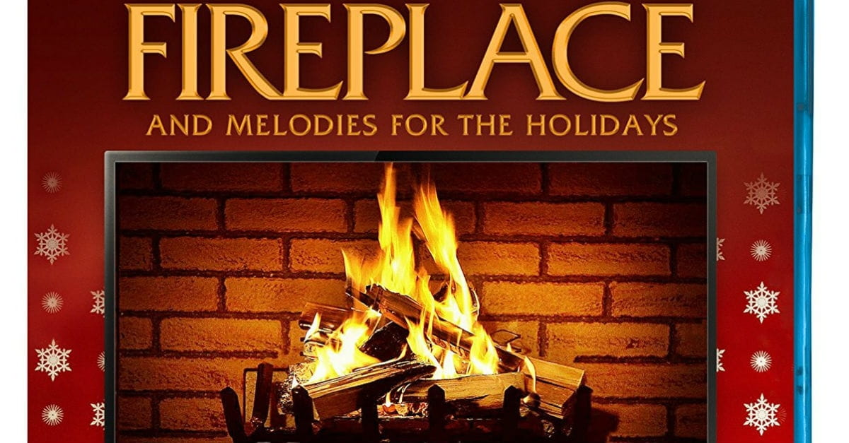 10. Fireplace and Melodies for the Holidays