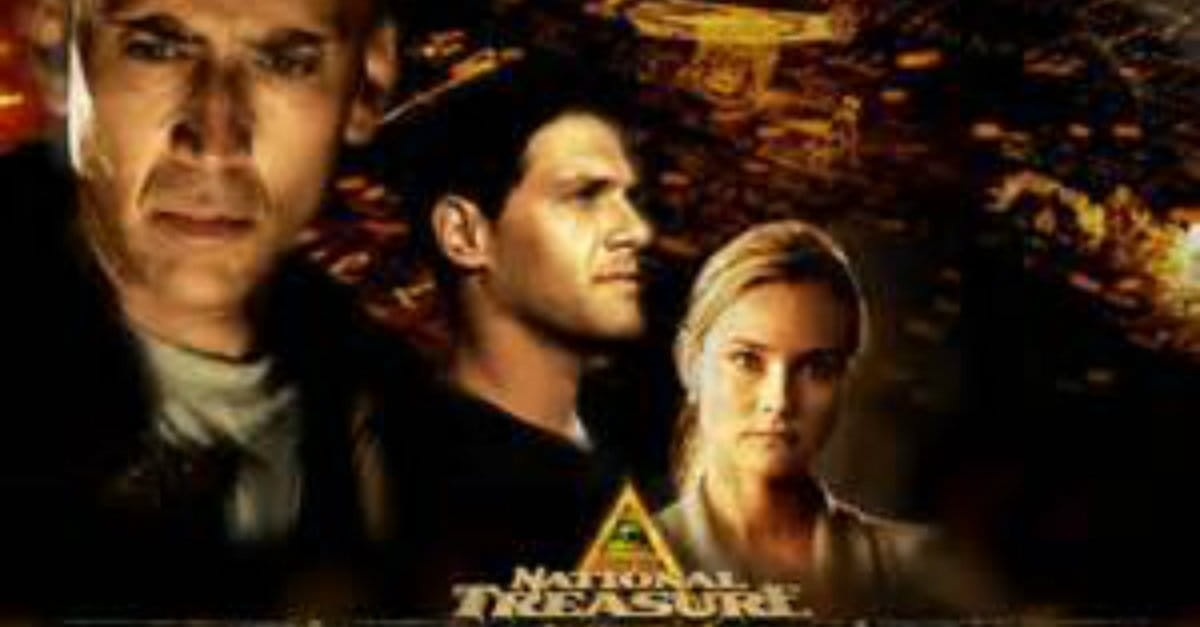 National Treasure (PG, 2004, streaming June 1)