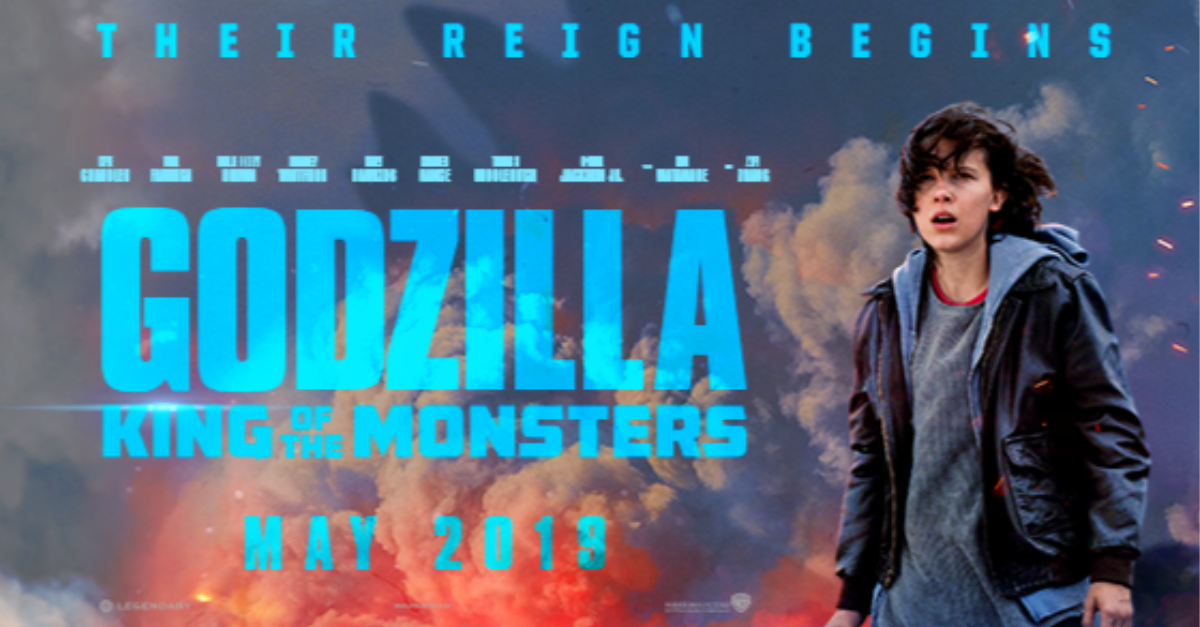 2. Godzilla: King of the Monsters (May 31)