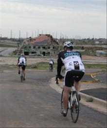Bicyclists Ride for Joplin and Tuscaloosa Tornado Victims