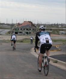 Bicyclists Ride for Joplin and Tuscaloosa Tornado Victims