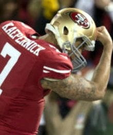 Kaepernicking Replaces Tebowing