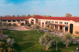 CBU photo of campus building, top CA Colleges