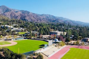 Westmont College sports fields, best CA colleges