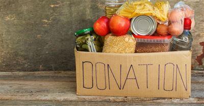 6. Organize a neighborhood food drive.