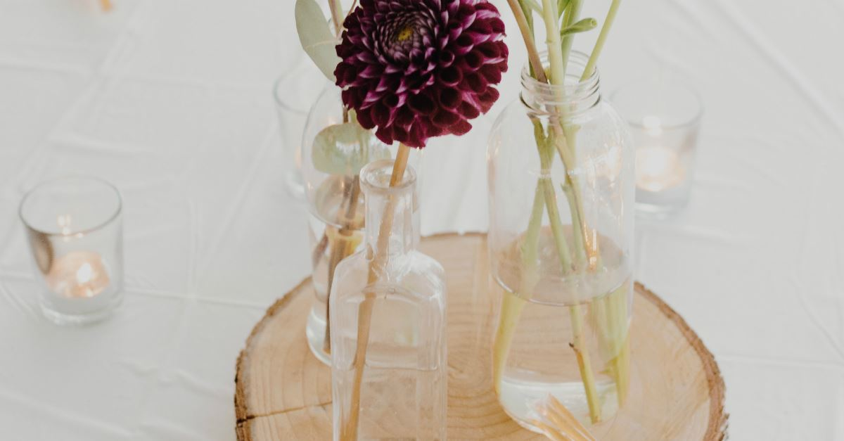 3. Create meaningful centerpieces.