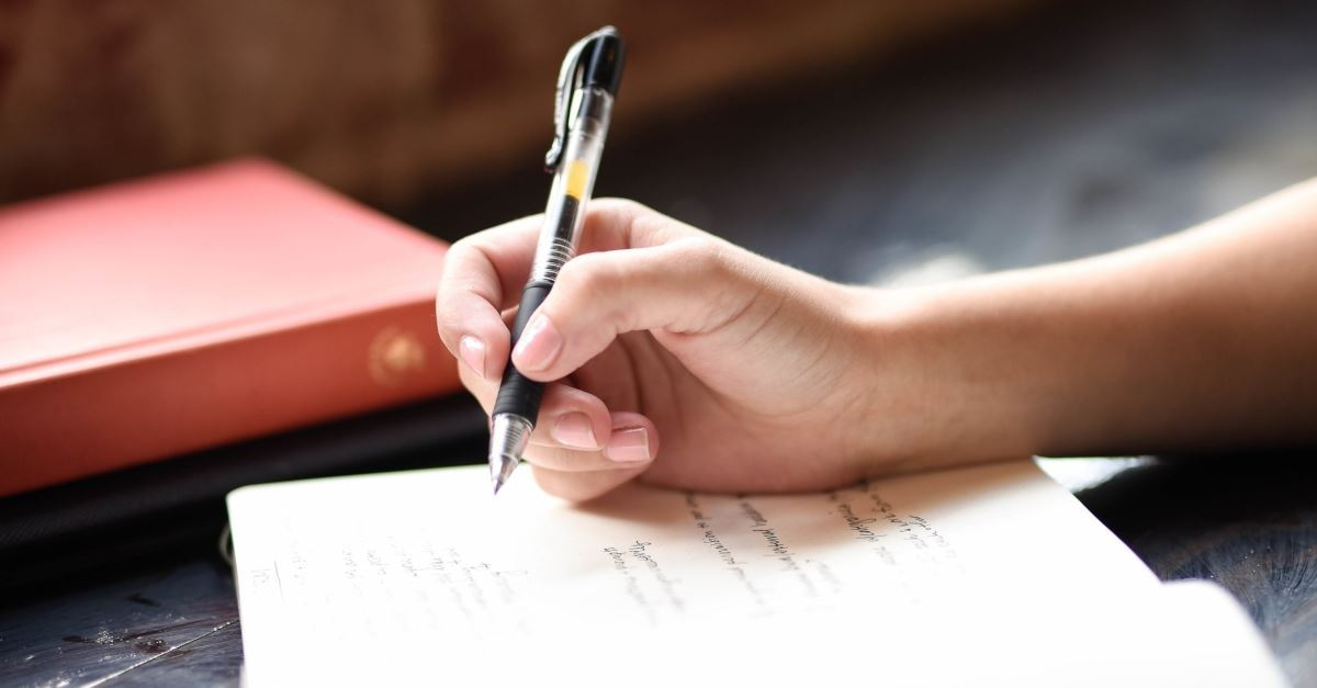 1. Record individual, or shared prayers in a journal.